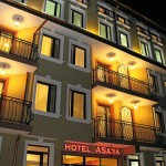 Night view of hotel ASara